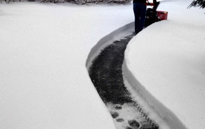 snow shoveling service billings